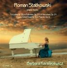 Roman Statkowski - : Piano Music (2015)