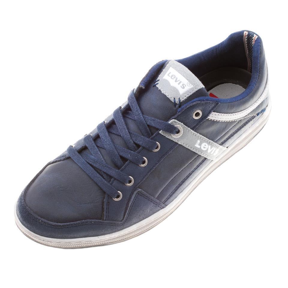 LEVI`S Men`s Leder Lace Up Trainer Schuhe Schuhe Schuhe UK 9 (222487) ad0fdc