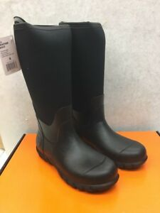 b9efe23d041 Details about Habit All-Weather Men's Black Boots Various Sizes *** New  with box***