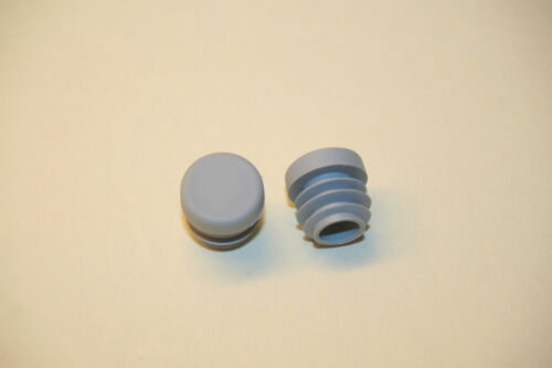 2 xkunststoffkappen ø 18 mm rohrstopfen fusskappen rond 18x2 extrémités gl18g