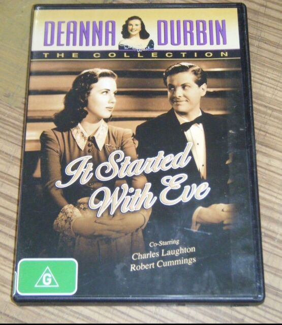 Pre-Owned DVD - Deanna Durbin Collection: It Started With Eve [A11]