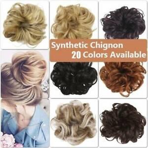 Real-Natural-Curly-Messy-Bun-Hair-Piece-Scrunchie-Hair-Extensions-Chignon-Hair