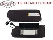 97-04 Corvette C5 Sun Visor Sunvisor Bezel Trim Mount NEW Left Driver Side