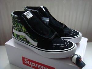 SK8Hi Teschio Pile Supreme Vans UK 12