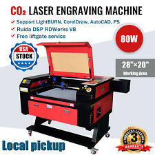 New Listingruida 2820 80w Co2 Laser Engraver Cutter Engraving Machines Local Pickup