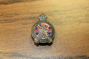 VINTAGE-RARE-1927-ROYAL-CANADIAN-LEGION-PIN-BRITISH-EMPIRE-SERVICE-13794