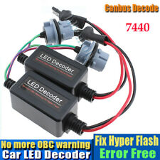 2x Philips LED Resistor 5W CanBus Load Hyper Flash Canceler Decoder ERROR FREE