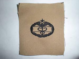 US ARMY DESERT COMBAT MEDIC 2ND AWARD BADGE INSIGNIA