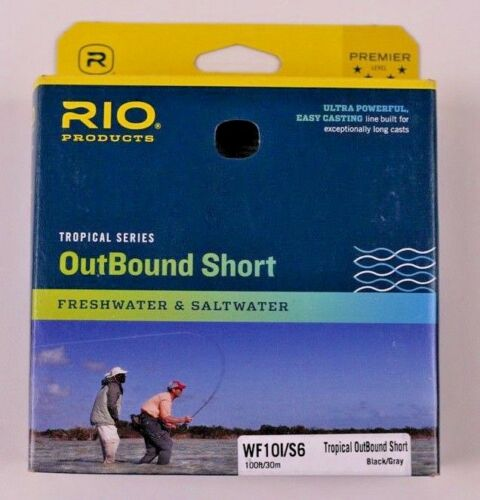 Rio Tropical OutBound Short WF10I//S6 Fly Line Free Fast Shipping 6-20377