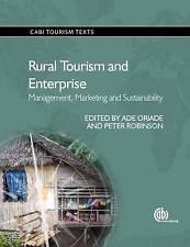 TURISMO rurale e impresa: management, marketing e la sostenibilità da.
