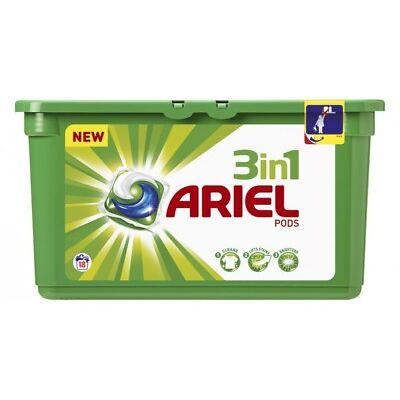 Ariel Pods 3 en 1 Detergente Original 18 cápsulas