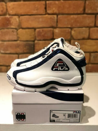 FILA 96 MEN/'S SHOES OG COLOR WHITE//NAVY//FILA RED STYLE 1BM00569-125