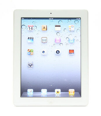 "9.7"" Apple iPad 4th Generation Wifi Only GSM Unlocked Black/ White 16/32/64GB"