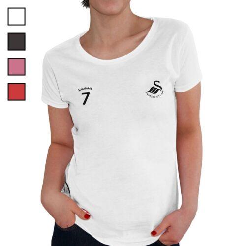 Swansea City A.F.C Personnalisé Femmes T-Shirt sports