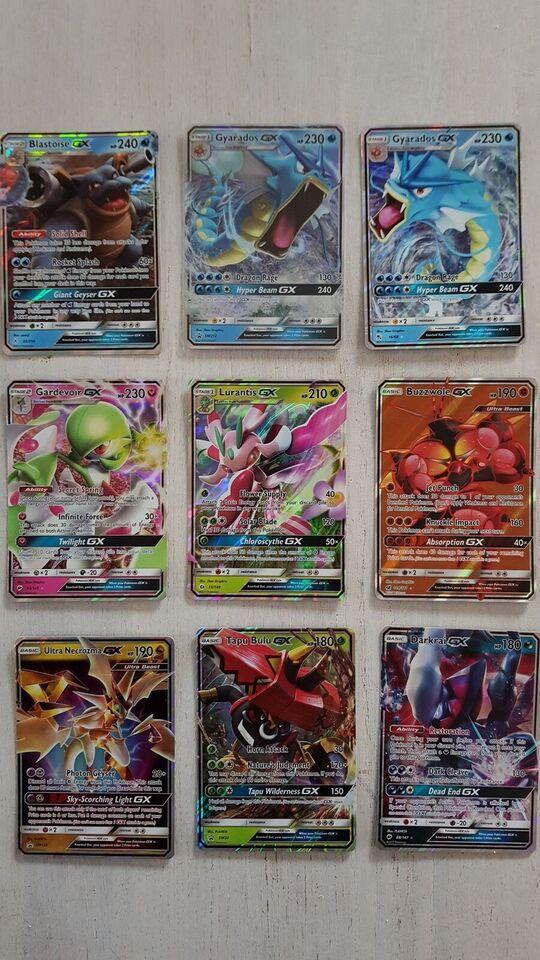 Samlekort, Pokemon GX kort