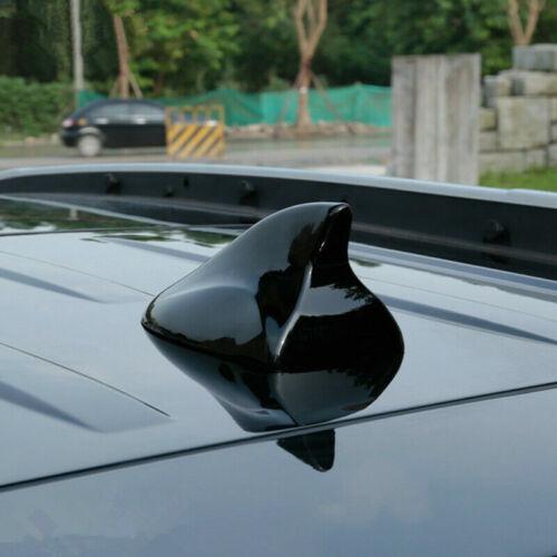 Shark Fin Roof Antenna Aerial FM//AM Radio Signal Decoration Car Trim Universal