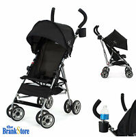 Lightweight Umbrella Stroller Baby Toddler Travel Canopy Hood Storage Basket