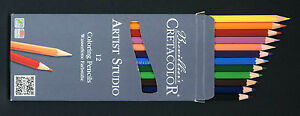 Artist-Coloured-Pencils-12-NEW-Artist-Quality-Cretacolor-brand-made-in-Austria