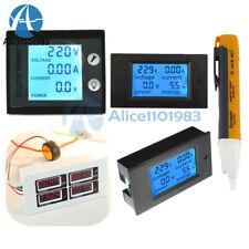 Ac 80 260v 0 100a Lcd Volt Current Watt Kwh Meter Power Energy Ammeter Voltmeter