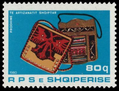 "mi2040 Responsible Albania 1944 - Traditional Handicrafts ""leather Handbags"" 50% OFF pa62497"