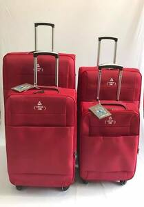 Luggage-Set-of-4-piece-Soft-4-Wheels-Expandable-Suitcases-20-034-24-034-28-034-amp-32-034