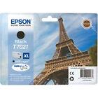 Genuine Authentic Epson T7021 XL Black Ink Cartridge C13t70214010