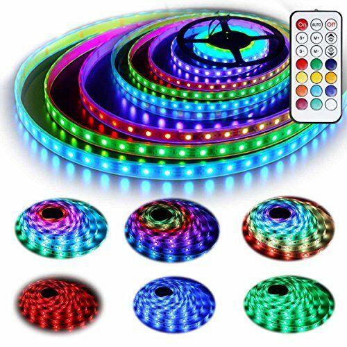 12V Rgb Led Strip Lights Kit Addressable Dream Color Lighting W// Chasing New
