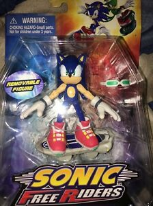 Sonic - Sonic Free Riders Jazwares NEW Sonic The Hedgehog Free Shipping