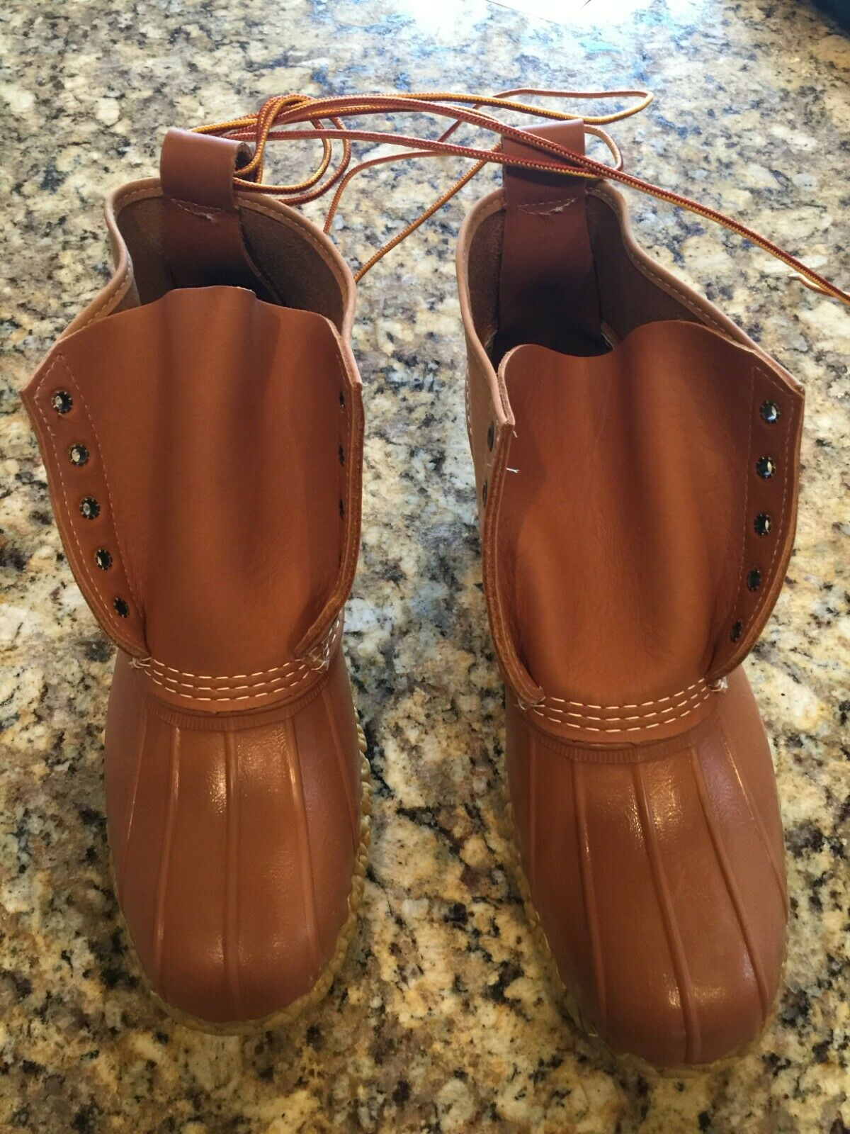 Brand New- Limited Edition  LL Bean Boots, Small Batch men's.  Size 11