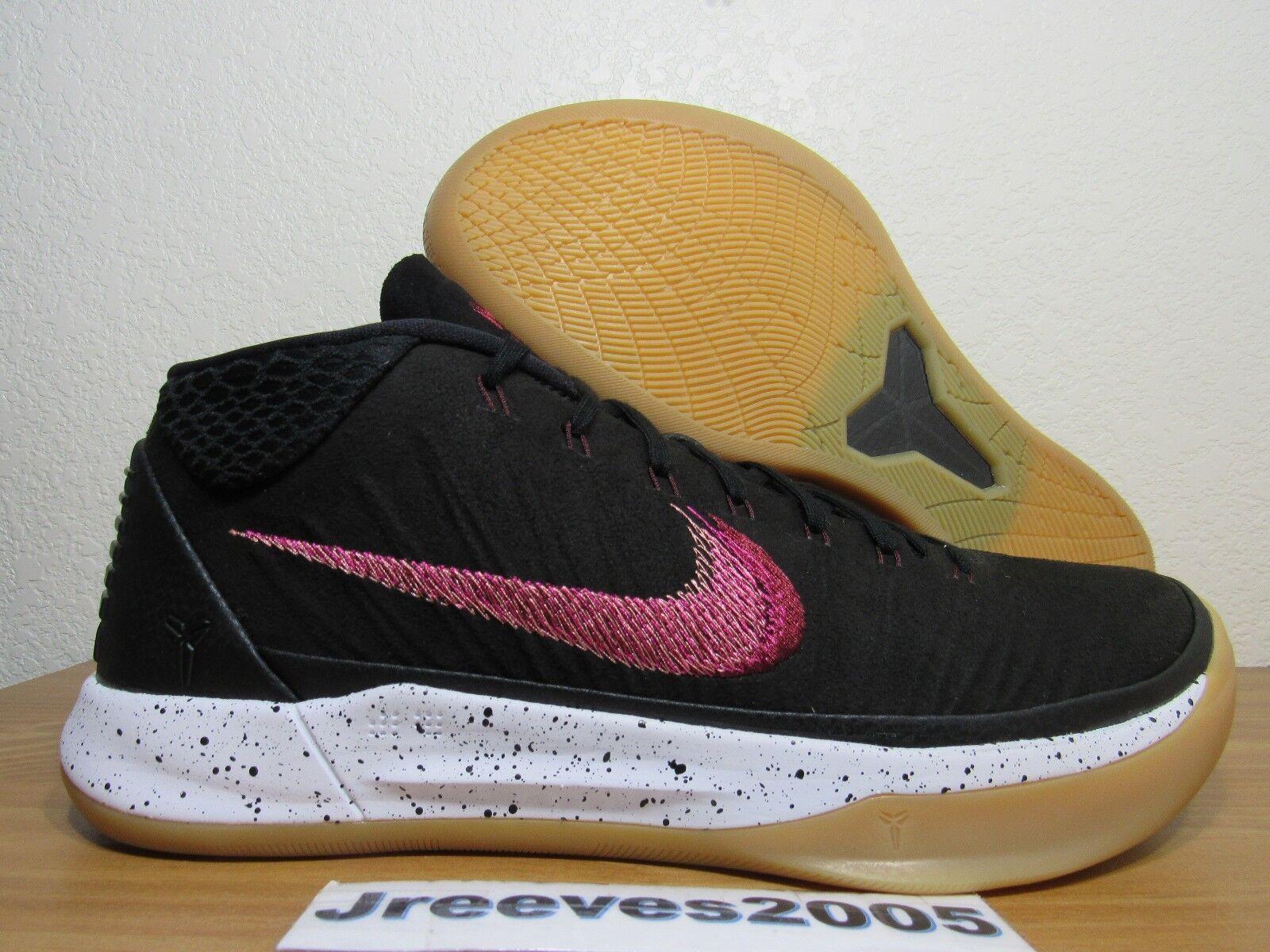 Kobe AD GENESIS Sz 10 100% Authentic Nike Retro A.D. Black Gum 922482 006