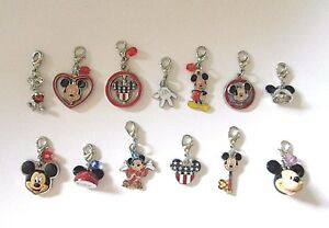3425e15d348a0 Details about Brand New Official Walt Disney World Mickey Mouse Clip on to  Link Bracelet Charm