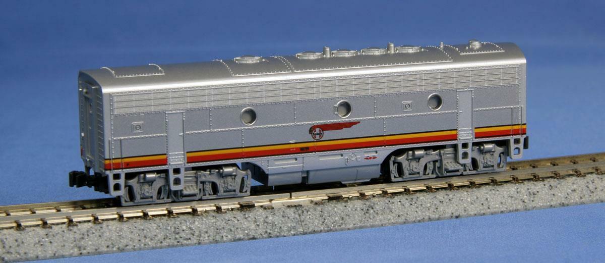 Kato N Scale EMD F7-B Unidad, AT&SF Santa Fe Nuevo En Caja, Vintage., nuevo viejo stock Nuevo En Caja