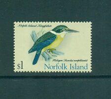 Norfolk Island 1970 - 1971 $1 Bird Sacred Kingfisher MNH SG 117