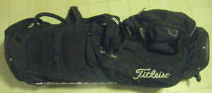 Titleist-Light-weight-Nylon-Stand-golf-club-carry-bag-w-E-Z-Fit-strap-system