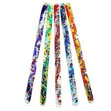 "Toysmith Jumbo Spiral Glitter Wand 12"" Tube Special Needs Sensory Toy"