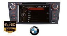 """AUTORADIO GPS 7""""HD BMW E90 E91 E92 E93 MAPPE USB SD 3G CANBUS RETROCAMERA TARGA"""