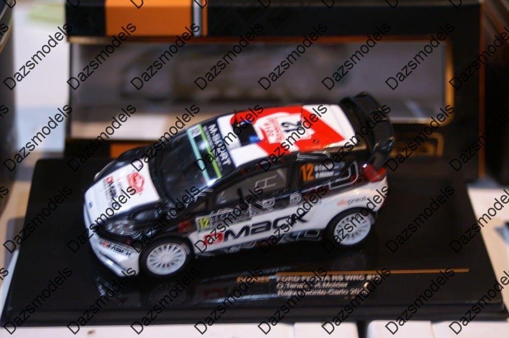 Ixo Ford Fiesta RS WRC Rallye Monte Carlo Tanak 2016 RAM625