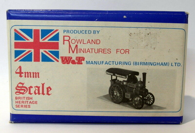 Rowland Miniatures Model Kits 1 76 OO Scale Weiß metal - No.B7 Road Locomotive