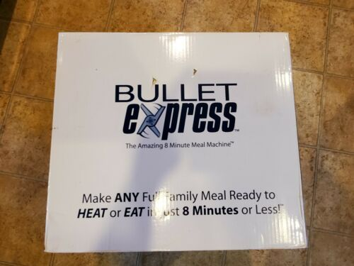 NIB Bullet Express The Amazing 8 Minute Meal Machine