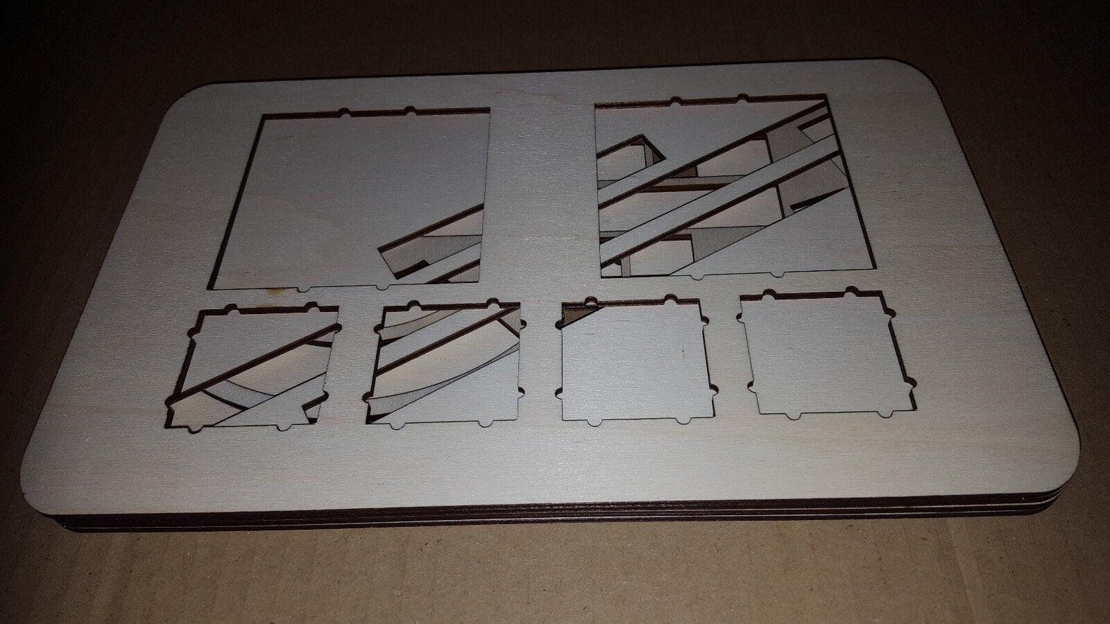 X-Wing 1.0 modèle modèle modèle plateau de rentrer dans boîtier Case (acrylique) 3f0c95