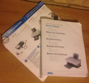 instructions owner s manual quick start user guide for dell a920 rh ebay co uk Dell Jukebox 30 Owner Manual Dell PC User Manual
