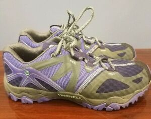 Merrell-Grassbow-Air-Equinox-Women-Purple-Hiking-Trail-Running-Shoes-Size-7M