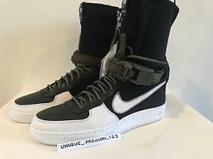 346ae3f2e266bf NIKE AIR FORCE 1 DOWNTOWN HI SP ACRONYM AF1 UK 5 6 7 8 9 10 11 BLACK ...