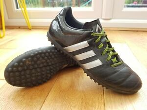 promo code b779f 22f2d Details about Adidas Ace 15.3 TF Football Boot In Core Black/Silver  Metallic/Solar Yellow UK7