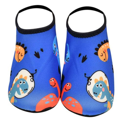 Kids Water Shoes Aqua Socks Diving Socks Pool Beach Swim Slip On Surf
