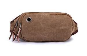B6006 FFANY NEW Premium Canvas Fanny Bags   Waist Bag   Travel Pouch ... 3313715ef98ab