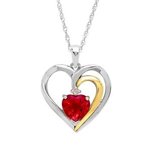 Ruby-Heart-Pendant-with-Diamond-in-Sterling-Silver-and-14K-Gold