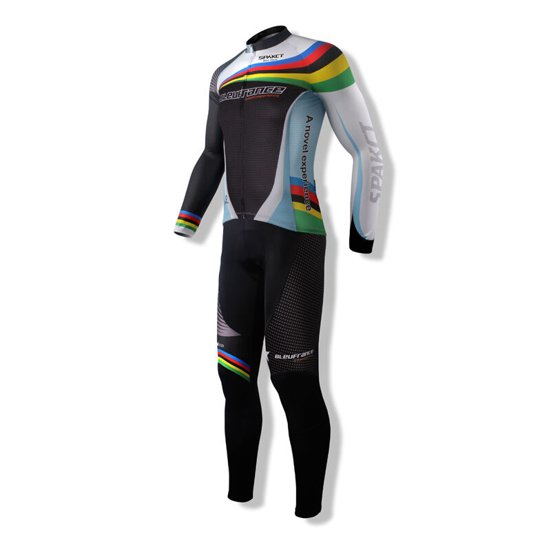 SPAKCT ciclismo Suit lungo Sleeve Jersey & Tights PantsCote d'Azur sportwear