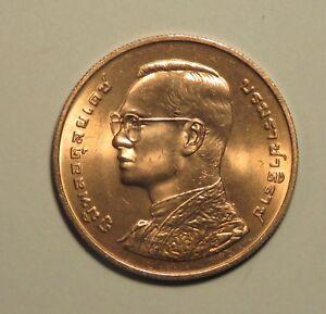 King Bhumibol Adulyadej Rama IX 72nd Birthday 1999 Thailand 10 Baht Coin Thai