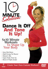 10 MINUTE SOLUTION - DANCE IT OFF AND TONE IT UP - DVD - REGION 2 UK